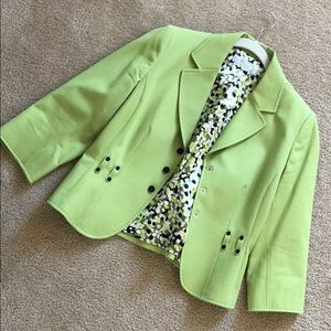 Pear Green Blazer
